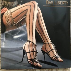 OROBLU Accessories - OROBLU Stockings Black/Nude & GORGEOUS Stay Up
